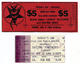 Legacy / Testament 1985 - 1990 Lot of Six Used Backstage Passes & Concert Tickets