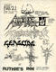 Attitude Adjustment 1986 Original East Bay Area Ruthie's Inn Thrash-Metal Concert Handbill