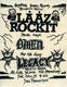 Laaz Rockit Legacy 11-1984 Original The Stone East Bay Area Thrash-Metal Concert Handbill