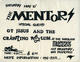 The Mentors 1986 Original Mabuhay Gardens East Heavy-Metal Concert Handbill