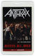 Anthrax Charlie Benante 2015 Osaka, Japan Loud Park Festival AAA Backstage Pass