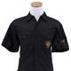Korn 2000 Sick & Twisted Lock & Load U.S.A. Tour Dickies Button Down Crew Shirt
