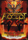 Accept 2012 Louisville, KY Original Cancelled Concert Poster