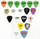 Heavy-Metal Lot of 20 Miscellaneous Guitar Picks