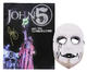 Rob Zombie John 5 & The Creatures Signed Tour Program & Plastic Stage Mask