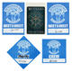 Queensryche 2009 - 2011 Pittsburgh, PA Lot of 5 Backstage Passes
