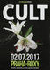 The Cult John Tempesta 2017 Hidden City Tour Signed Prague Concert Poster