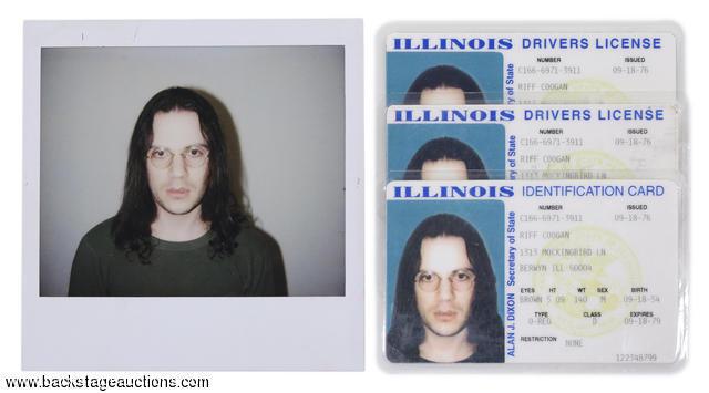 KISS 1998 Detroit Rock City Movie Original Adam Rifkin Fake ID Props