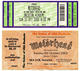 Motorhead 2000 - 2003 Lot of 3 Collectible Concert Tickets U.K., Russia