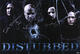 Disturbed 2008 Indestructible Signed Poster