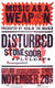 Disturbed 2006 Music As A Weapon: III Hatch Show Print Poster Nashville, TN