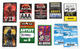Disturbed 2008 Lot of 10 Various Festival & Tour Laminated Passes