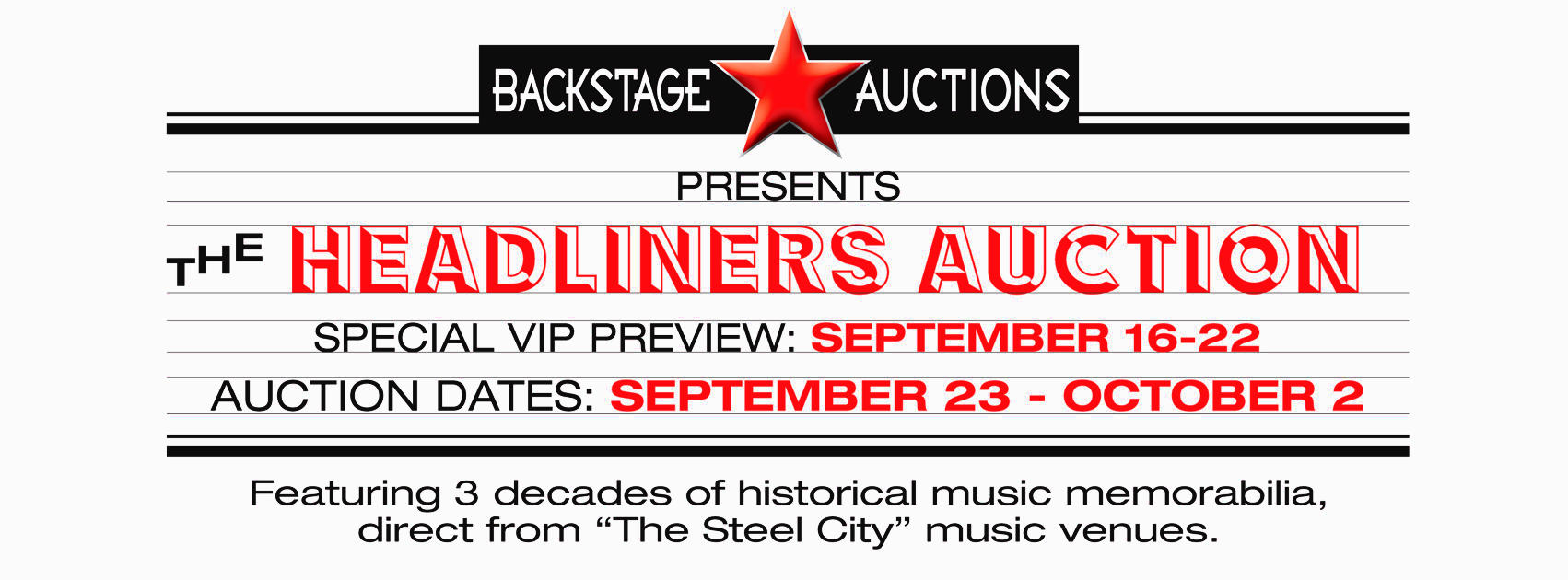 The Headliners Auction